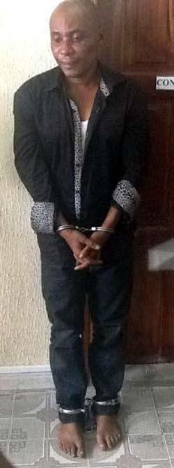 The suspect, Tony Anene