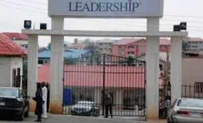 *Leadership Newspaper