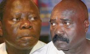 Governor Adams Oshiomhole and Chief Lucky Igbinedion