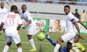 File photo: Rangers players during a match