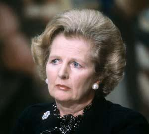 "A picture dated September 9, 1980 shows British Prime Minister Margaret Thatcher attending the 5th Franco-British summit in Paris. Former British prime minister Margaret Thatcher, the ""Iron Lady"" who shaped a generation of British politics, died following a stroke on April 8, 2013 at the age of 87, her spokesman said. AFP PHOTO"