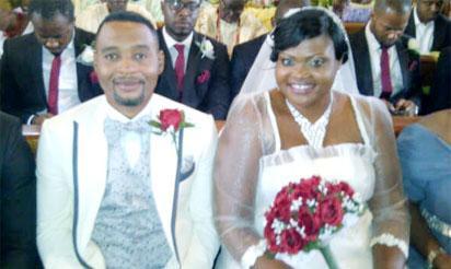 Gbenga Animashaun & Wife, Chinelo
