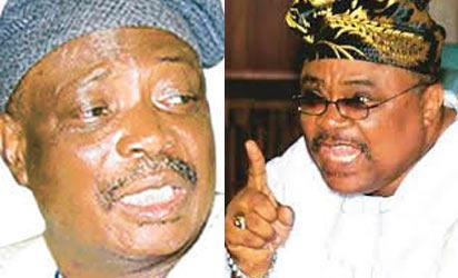 Former Oyo governors Ladoja and Akala