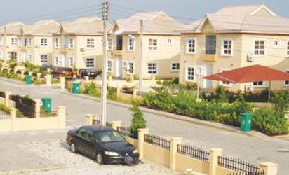 A Housing Estates in Lagos