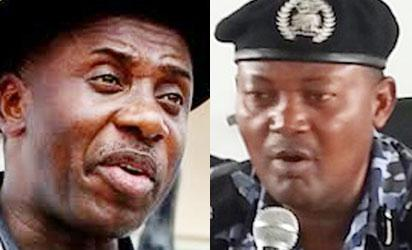 Amaechi: Berates Police boss. Mbu: Amaechi is a dictator
