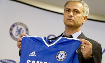 New Chelsea FC manager, Jose Mourinho unveiled to the press at Stamford Bridge on Monday, June 10, 2013
