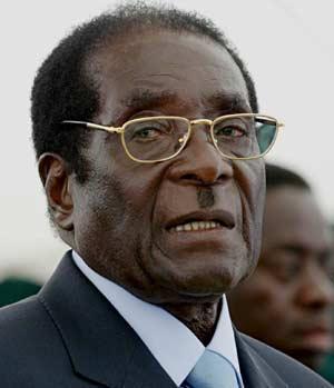 Former Barca stars appear at Mugabe rally