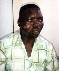 Bashiru Majorette, the suspect