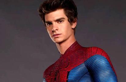 *Andrew Garfield as Spider-Man