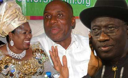 Patience, Amaechi and Jonathan