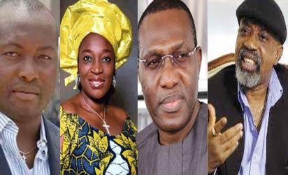 Ifeanyi Uba, Ekwunife, Andy Uba and Ngige