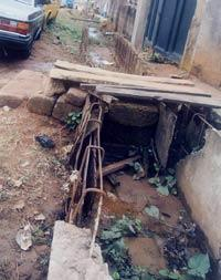 One of the abandoned road projects in Egbe/Idimu LCDA