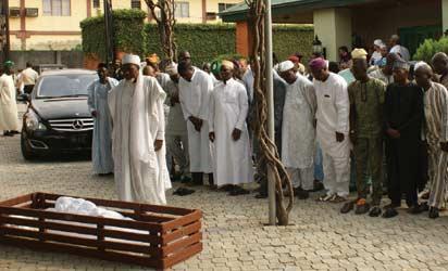 Odunewu's interment  rites