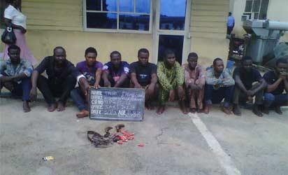 File Photo: kidnap suspects