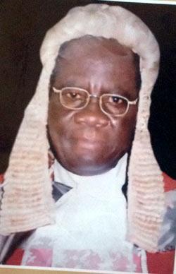 *Justice Nwanosike