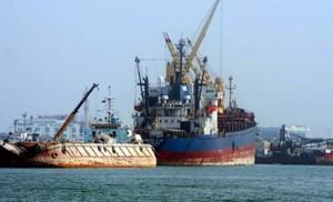 Sea-port