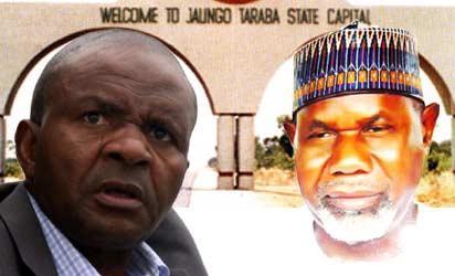 Governor Danbaba Suntai and Acting Governor, Alhaji Garba Umar