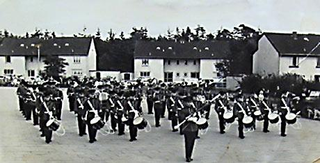 * Army Band in UK