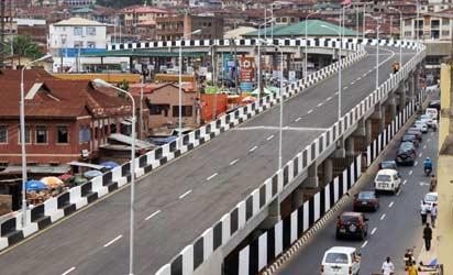 The N3bn Mokola flyover at Ibadan.