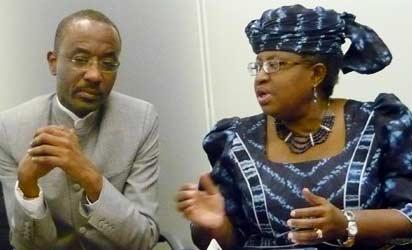 Sanusi Lamido Sanusi and Okonjo-Iweala
