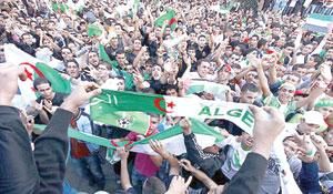 WILD CELEBRATION: Algerian soccer fans in a frenzy after their national team secured 2014 World Cup ticket. 12 died in the celebration.
