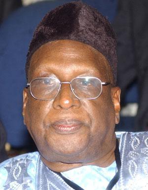 Alhaji Bamanga Tukur, the National Chairman of the Peoples Democratic Party (PDP)