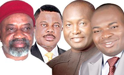 Ngige,Obiano,Ubah and Nwoye