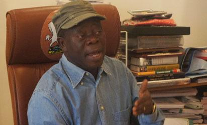 I didn't hand over official vehicles to Ativie —Oshiomhole