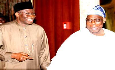 Jonathan felicitates Obasanjo