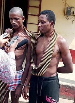 *Daniel Sunday And Prophet Friday Who Planned To Attack Calabar Carnival