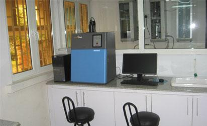 The DNA lab in LUTH