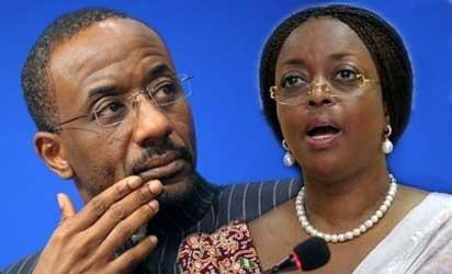 CBN Gov, Sanusi and Minister of Petroleum Resources, Alison-Madueke
