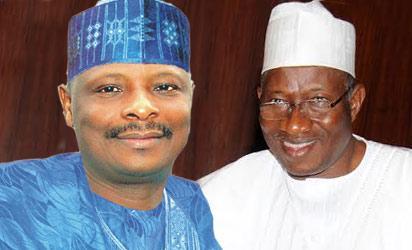 Governor Kwankwaso and President Jonathan