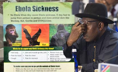 President Goodluck Jonathan approved a N1.9 billion special fund to combat Ebola