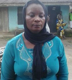 Chimnumezi's mother, Mrs Nkiruka