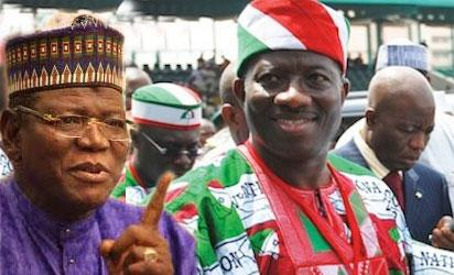 Jigawa State Governor, Alhaji Sule Lamido to endorse the presidential ambition of President Goodluck Jonathan in 2015.