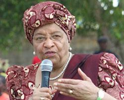 Goodbye Sirleaf, We shall not miss you