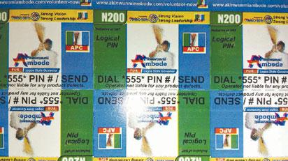 Branded recharge cards