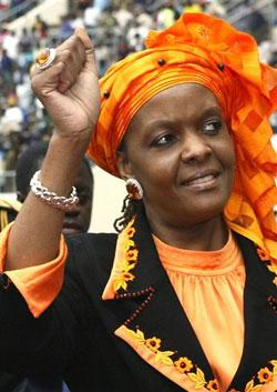 Grace Mugabe probed over alleged assault in S.Africa