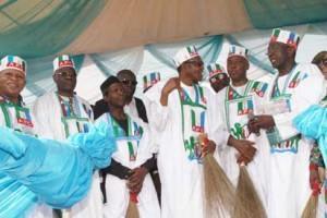 •Maj-Gen Muhammudu Buhari during his campaign rally in Ilorin, kwara State