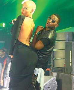 Dbanj-and-Amber-Rose