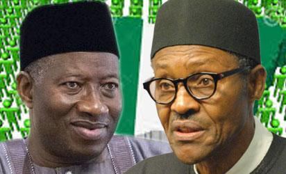 President  Goodluck Jonathan and Gen. Muhammadu Buhari