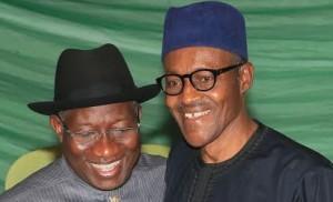 Jonathan and Buhari