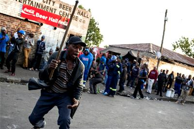 South Africa, Xenophobic