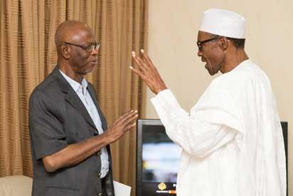 •Oyegun and Buhari