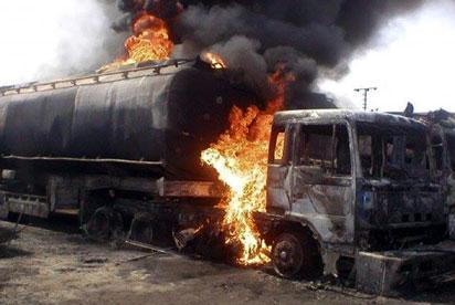 Four killed as tanker explodes on Lagos-Ibadan expressway