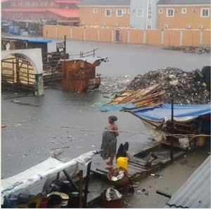 Help Flood Is Sacking Us From Our Homes Ajegunle Residents