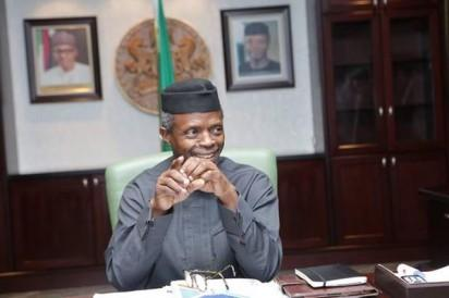 Osinbajo resumes in office