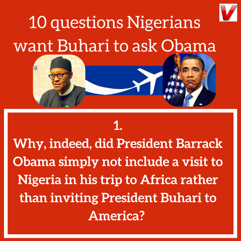 Buhari Obama Vanguard