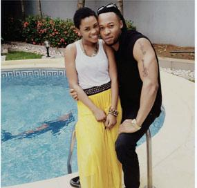 Flavour and Chidinma in the photo posted on Instagram.